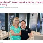 Tomasz Curlej w programie Miasto Kobiet w TVN Style
